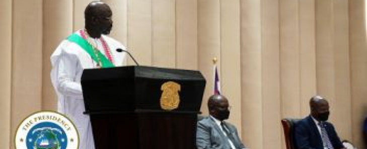 President Weah Underscores Government Determination to End COVID Pandemic Despite Dire Challenges