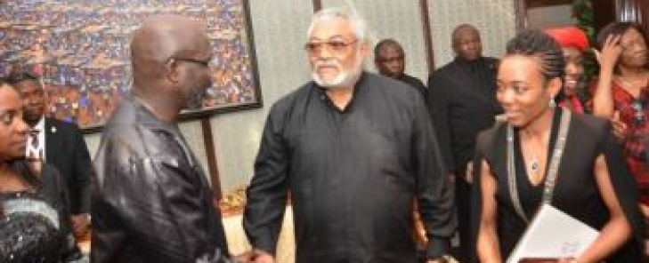 """He Gave Me Wise Counsel""- Pres. Weah Remembers Fallen Ghanaian Ex President Rawlings"